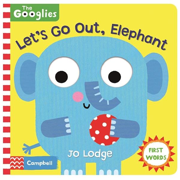 Let's Go Out, Elephant 跟著大象出遊操作書