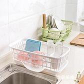 降價兩天-瀝水架塑料碗碟置物架廚房用品放碗架水槽瀝水架餐具碗筷收納盒架子碗櫃xw