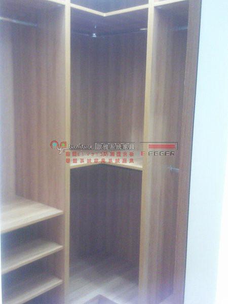 歐雅系統家具 系統櫃 更衣室 開放式衣櫃 B0012