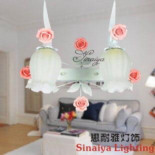 玫瑰花客廳壁燈