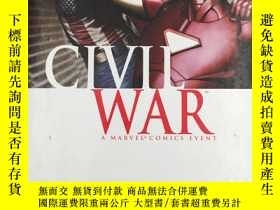 二手書博民逛書店Civil罕見War: Avengers HCY19139 Br
