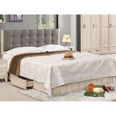 床架 MK-525-1 愛莎6尺抽屜式雙人床 (床頭+床底)(不含床墊) 【大眾家居舘】