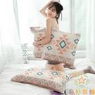 單條 歐式全棉家用加厚枕頭巾枕頭巾紗布枕巾純棉【奇妙商鋪】