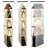 牆掛式包包收納掛袋衣櫃懸掛式整理袋多層布藝防塵儲物架子 安妮塔小鋪