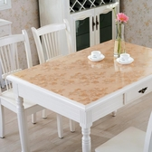 PVC桌布防水防燙防油免洗透明茶幾墊子軟塑料玻璃餐桌墊厚水晶板 年底清倉8折