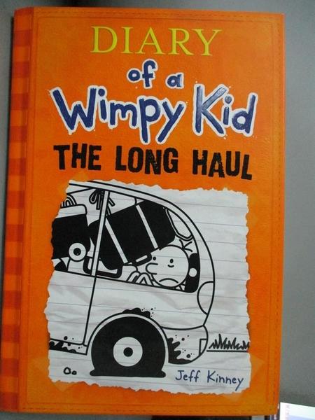 【書寶二手書T1/原文小說_OOO】The Long Haul_Kinney, Jeff