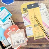 【BlueCat】黑色行李箱時光穿梭機系列 便條紙 留言卡 備忘錄