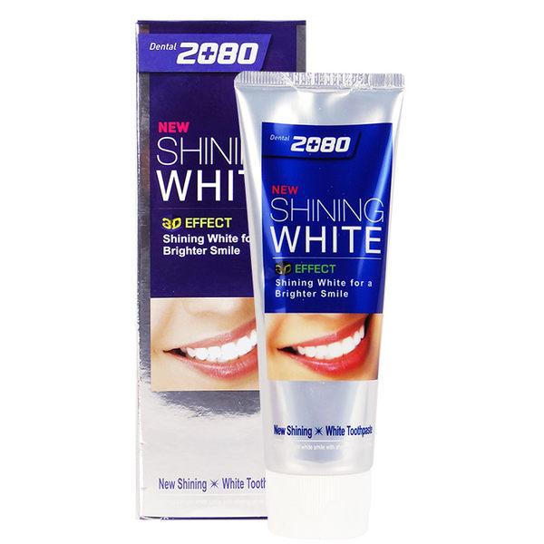 牙齒美白 韓國 2080愛敬 三重美白牙膏 100g◆86小舖◆
