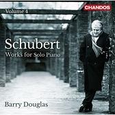 【停看聽音響唱片】【CD】舒伯特:鋼琴獨奏作品第四集 貝瑞.道格拉斯 鋼琴