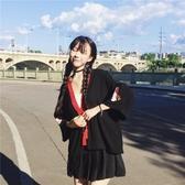 日系和服女可愛寬鬆刺繡開衫外套【步行者戶外生活館】