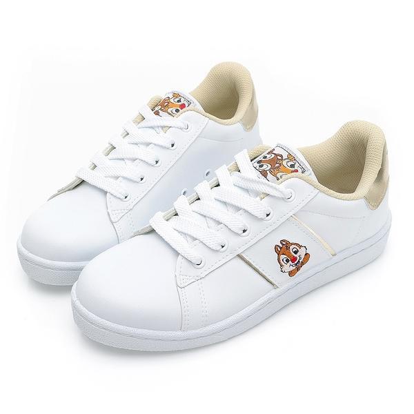 奇奇蒂蒂電繡小白鞋