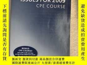 二手書博民逛書店TOP罕見FEDERAL TAX ISSUE FOR 2009Y
