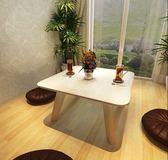 簡約現代飄窗桌 榻榻米小方桌 日式小茶幾 小戶型飄窗小書桌 矮桌