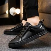 618好康又一發[gogo購]夏季新款防滑板鞋全黑色男鞋廚房
