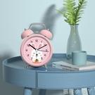 聲音超大鬧鈴小鬧鐘學生用可充電床頭鐘卡通兒童專用靜音時鐘表型【蘿莉新品】