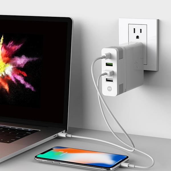 Monitormate M2 Cube MacBook Pro USB-C充電轉接器