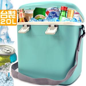 攜帶式20L冰桶20公升冰桶行動冰箱釣魚冰桶.保冰桶冰筒保冷桶保冰箱保冷箱.冷藏箱保溫桶保溫箱
