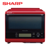 [SHARP 夏普]31公升 自動料理兼烘培達人機-紅 AX-XS5T-R