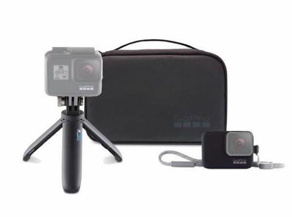 GoPro AKTTR-001 (延長迷你腳架 矽膠保護套 掛繩 收納盒) 適用 HERO7/6/5/4【旅行套件】