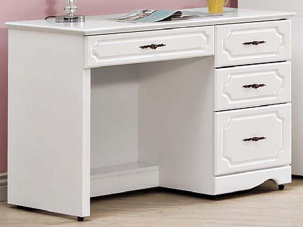 書桌 電腦桌 FB-055-1 安東尼烤白色3.5尺書桌 (不含其它產品)【大眾家居舘】