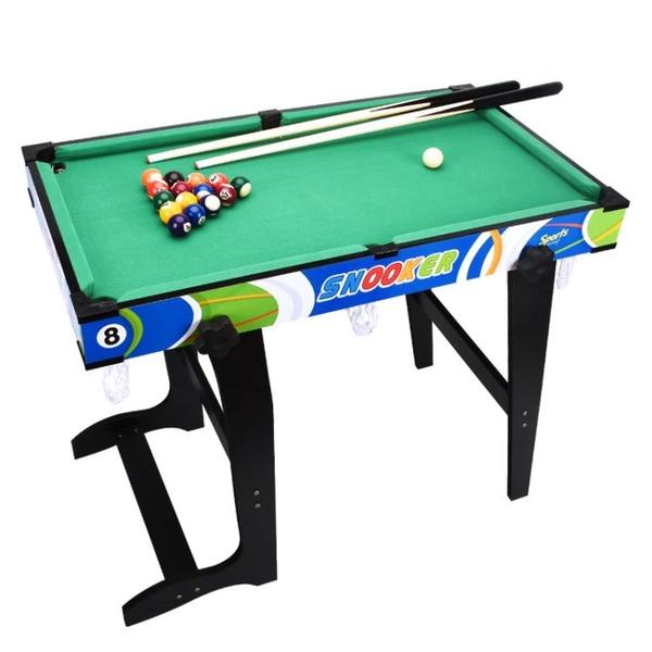 台球桌家用小型兒童室內迷你親子玩具互動小台球幼兒大人可摺疊 「免運」