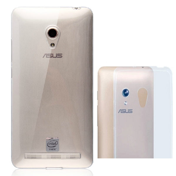 【SZ】透明 0.3mm TPU 軟殼 ASUS 保護殼 手機殼 Zenfone 450 Zenfone C Zenfone Selfie/ZD551KL保護套