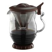 金時代書香咖啡  Tiamo 極細濾網 分享壺 350ml  HG1971