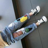 秋季男童褲子寶寶春秋裝1正韓2兒童3歲牛仔長褲4潮5童裝6【交換禮物特惠】