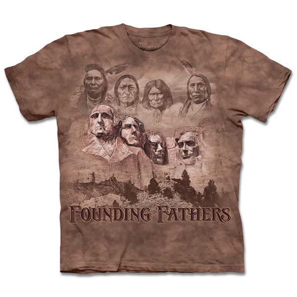 『摩達客』 (預購) 美國進口【The Mountain】自然純棉系列 拓荒者 T恤(10413045151a)