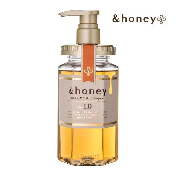 日本&honey蜂蜜亮澤修護洗髮乳1.0