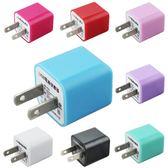 【A0813】 台灣認證 KooPin 迷你甜心糖 單孔 USB電源充電器 5V/1A-台灣安規認證 插頭 豆腐頭