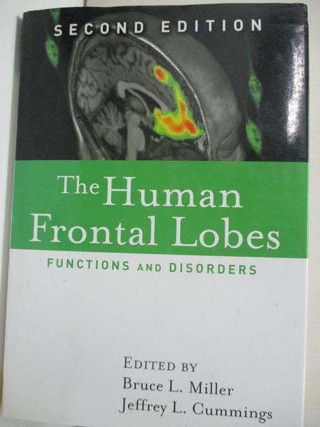 【書寶二手書T1/大學理工醫_KFU】The Human Frontal Lobes: Functions And…
