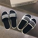 2021新款拖鞋男夏時尚外穿韓版潮流涼拖軟底室外沙灘鞋防滑一字拖 設計師