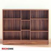 【RICHOME】BO359《超值9格書櫃》層櫃 收納櫃 邊櫃 儲藏櫃