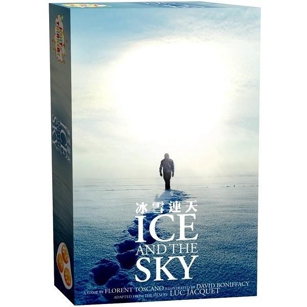 『高雄龐奇桌遊』冰雪連天 Ice and the Sky 繁體中文版 正版桌上遊戲專賣店