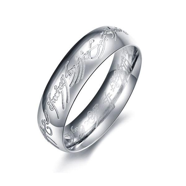 【5折超值價】【316L西德鈦鋼】最新款經典潮流時尚圖紋造型男款鈦鋼戒指