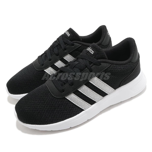 adidas 休閒鞋 Lite Racer 黑 銀 男鞋 基本款 運動鞋 【ACS】 FW8979