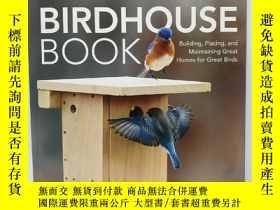 二手書博民逛書店Audubon罕見Birdhouse Book: Building, Placing, and Maintaini