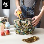 正韓防潑水飯盒袋便當包保溫清新媽咪包小號簡約輕便手提包新款【一周年店慶限時85折】