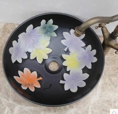 全手工藝術陶瓷洗臉盆-