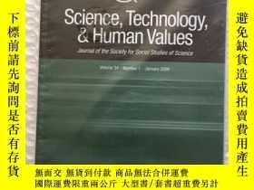 二手書博民逛書店STHV罕見Science, Technology, & Hum