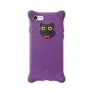 Bone iPhone 8 / 7 (4.7) 泡泡保護套 紫-貓咪 手機殼