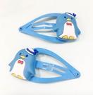 【震撼精品百貨】Tuxedo Sam Sanrio 山姆藍企鵝~髮夾組2入-淺藍*77807