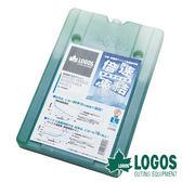 【日本LOGOS】倍速凍結超凍媒-L 約900g 冷媒 冰桶 冰磚保冷劑 保冷磚 環保冰塊 露營 野餐 81660641