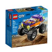60251【LEGO 樂高積木】城市系列 City-怪獸卡車 (55pcs)