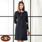 【岱妮蠶絲】簡約時尚蠶絲洋裝