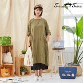 【Tiara Tiara】百貨同步新品aw  花草刺繡洋裝(藍/綠/黑)