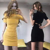 618好康鉅惠2018夏裝韓版時尚新款夜店女裝短裙