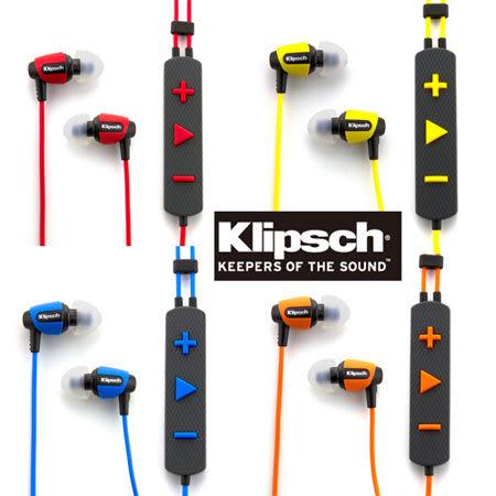 古力奇 Klipsch Image S4i Rugged 運動款線控耳道式耳機 四色可選 [My Ear 台中耳機專賣店]