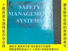 二手書博民逛書店Safety罕見management systemsY36605